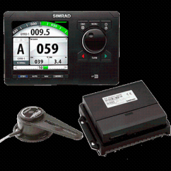Simrad unit and accessories
